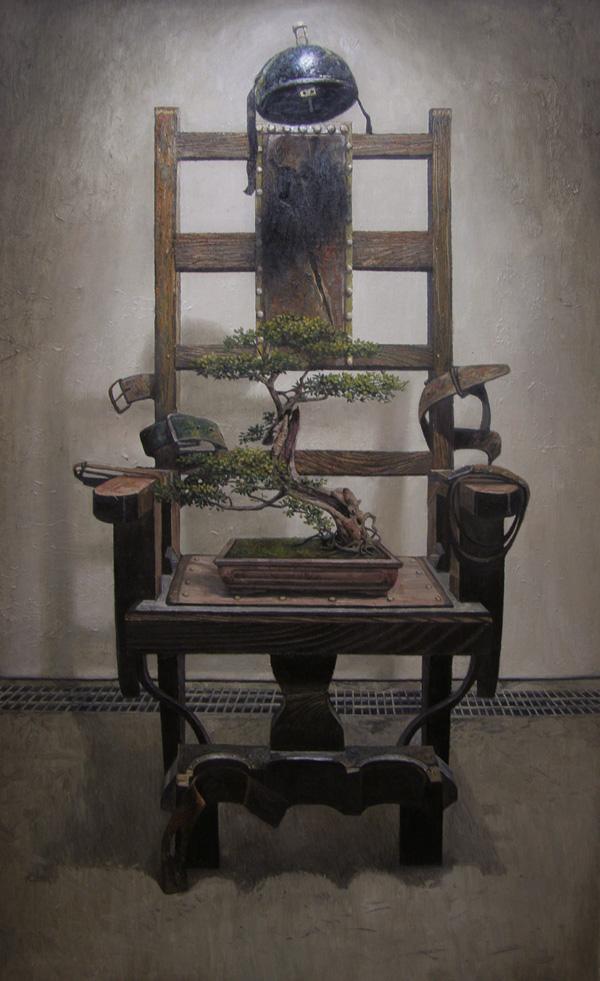 《等待的生命No.1》  布面油画 180x110cm 2012