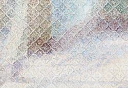 23. 走廊 布面坦培拉油画 112x145.5cm 2014 局部1