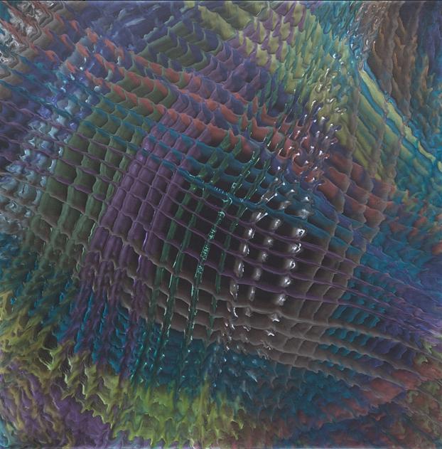HX-067 90x90cm 布上丙烯 2013