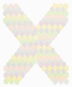 不可见aX 纸上马克笔 32.5x25cm 2013