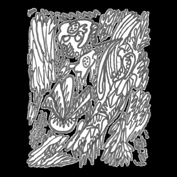 Maken X 11, Marker on paper card, Beijng, 2019
