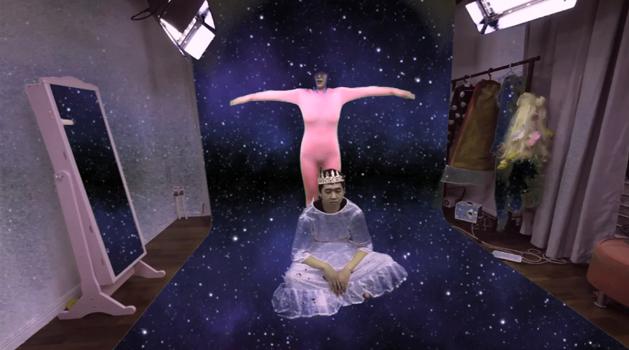 叶甫纳 一间有想法的房间 录像 2014