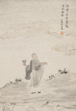禅林宝相册 纸本水墨 22x34cm 5