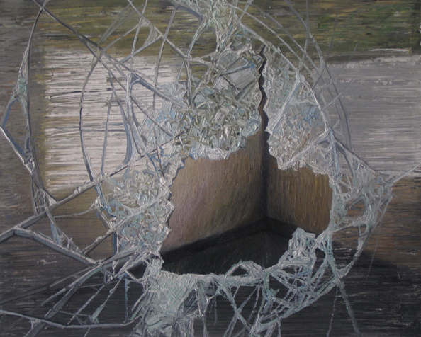 《perfect——残破NO.4》 布面油画 40x50cm 2011