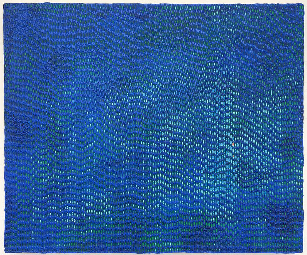 绘画81 木板丙烯 50x60cm .2018年