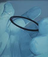 环形物Ring 布面油画 50x60cm 2014