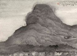 《太行山写生册》(局部)2
