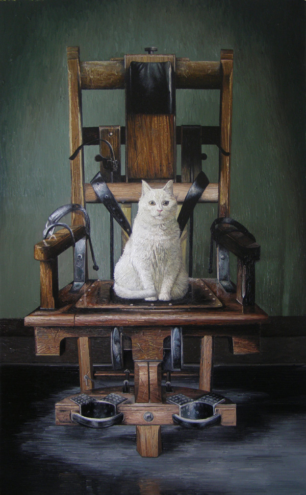《等待的生命No.2》  布面油画 180x110cm 2012