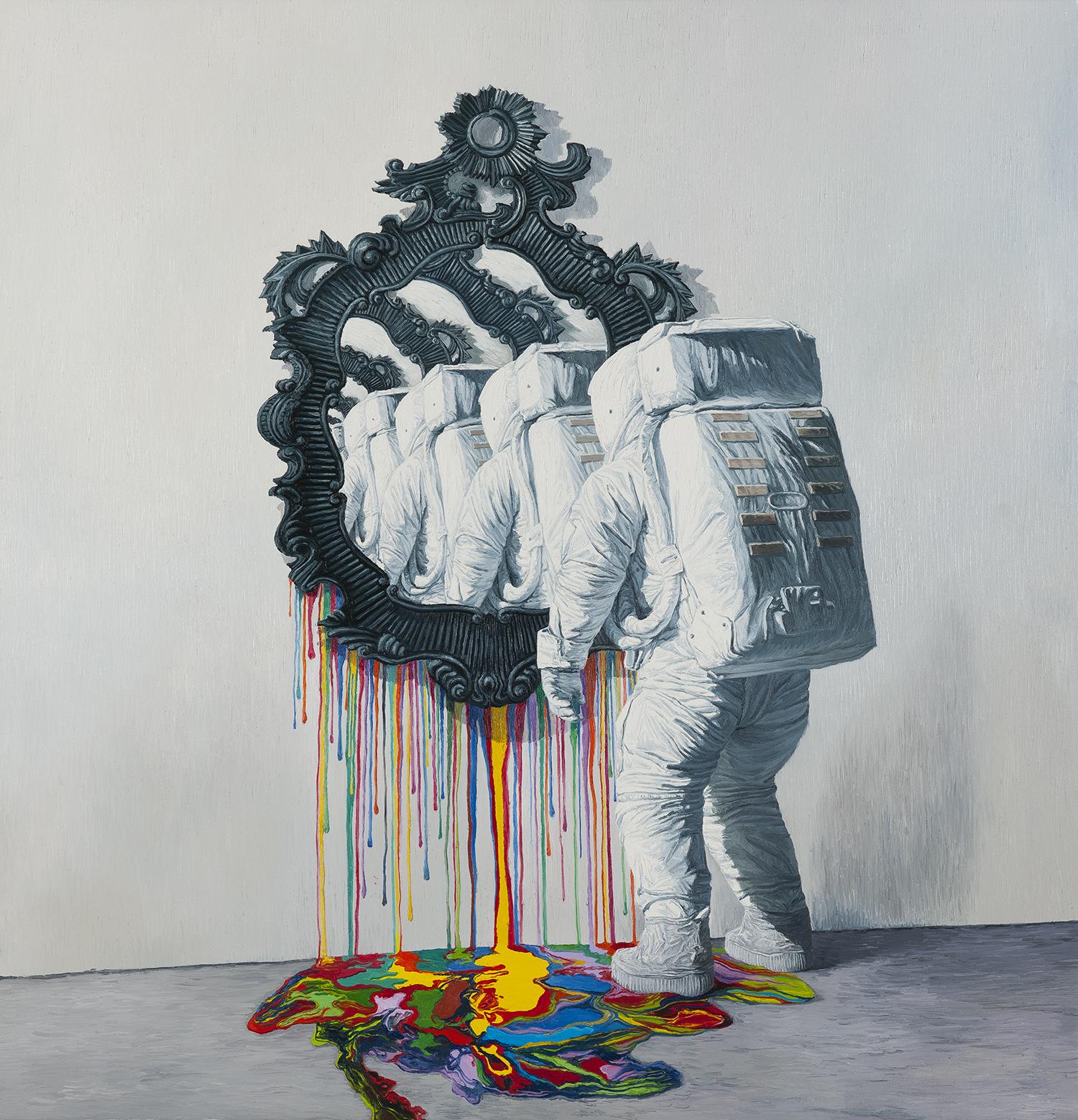 自我趋向一 布面油画 200x180cm 2014 Self-Direction