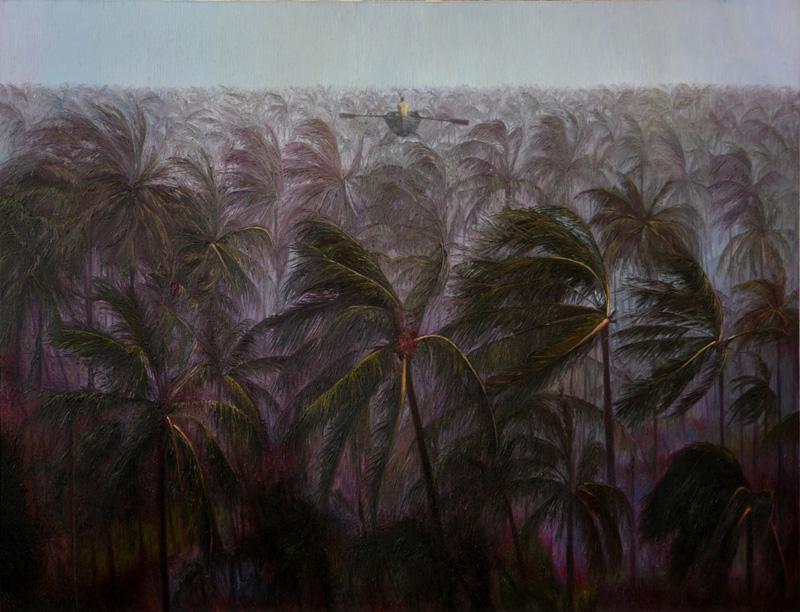 梦中吹过的风  布面油画  145x160cm  2013