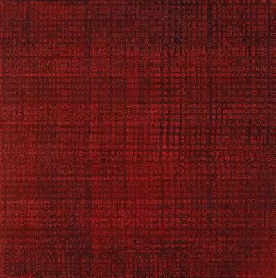 Hu Qinwu, 'R21', acrylic on canvas