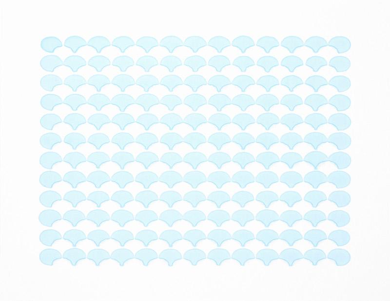 浪花 b00-ss1,Waves b00-ss1,纸上马克笔,Marker on