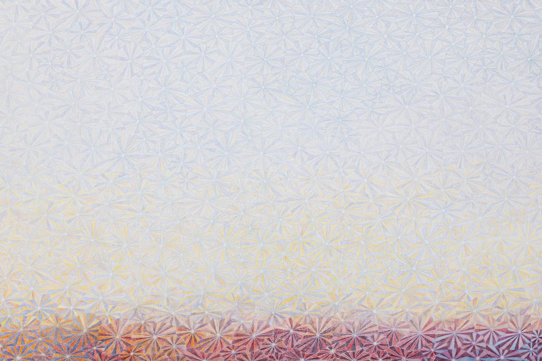 5. 尘201501 布面彩色铅笔 200x280cm 2015 局部4