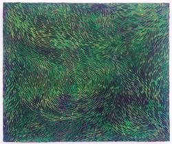 《绘画95—星空》木板丙烯 50x60cm 2018