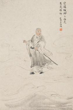 禅林宝相册 纸本水墨 22x34cm 4