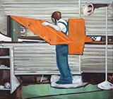 缄默者The Reticent 布面油画 160x180cm 2012