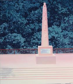 纪念碑 布面油画,丙烯 140X160cm 2011