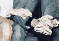 布面油画  Oil on canvas  35X50CM  2018