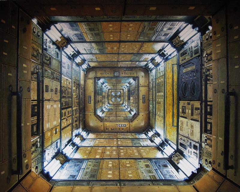 谜途系列  布面油画  200x255cm  2013  10万-13万