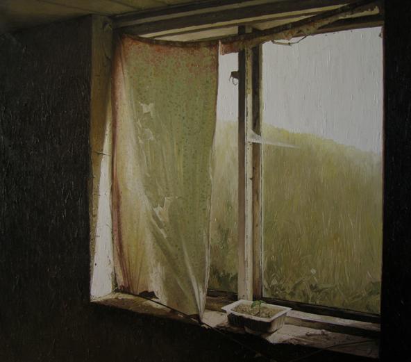 《光NO.2》 布面油画 140x160cm 2011