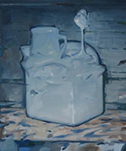异构体Isomer 布面油画  60x50cm  2015