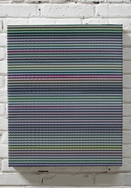 棘3 布面丙烯 52.5x65.5cm 2010