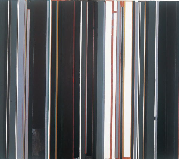 凝视之九 布上油画丙烯 160cmX180cm 2012