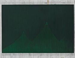 周思维 S.N.M.雪山 布面油画 133cmX200cm 2011