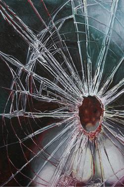 《perfect——残破NO.12》 布面油画 60x40cm 2012