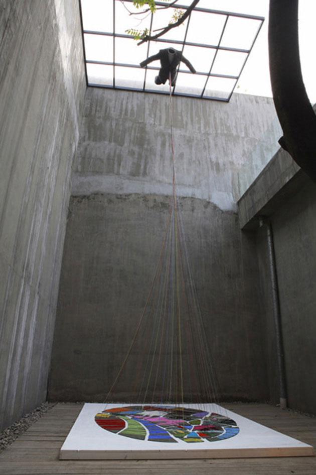 挽歌:空心之爱, 李颂华, 装置, 2008