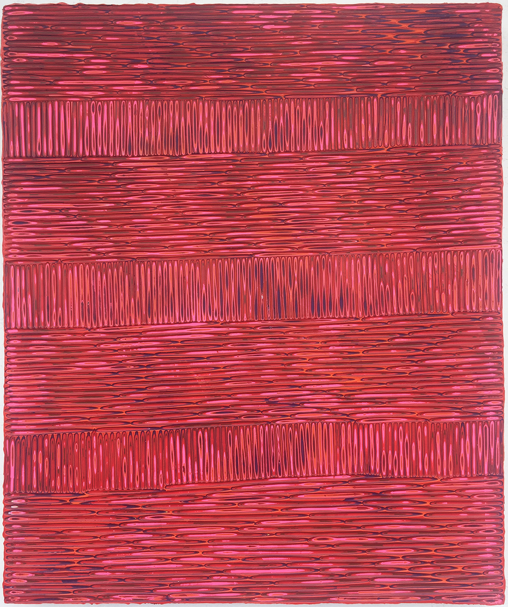 《绘画90》木板丙烯 50x60cm 2018
