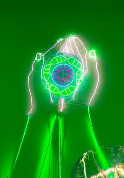 只手遮天     多色LED 灯 Multicolor LED Light