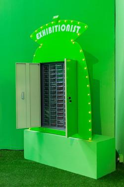 指甲银行-绿色Nail Bank-Green