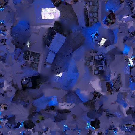 i Project Space Interior, Digital texture, Beijing, 2019