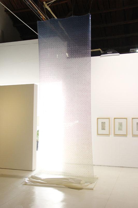25. 戌 综合材料 510x160cm 2012