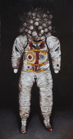《荒梦狂想系列No.2》  布面油画 190x100cm 2012