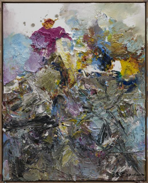 2015抽象作品z19 100x80