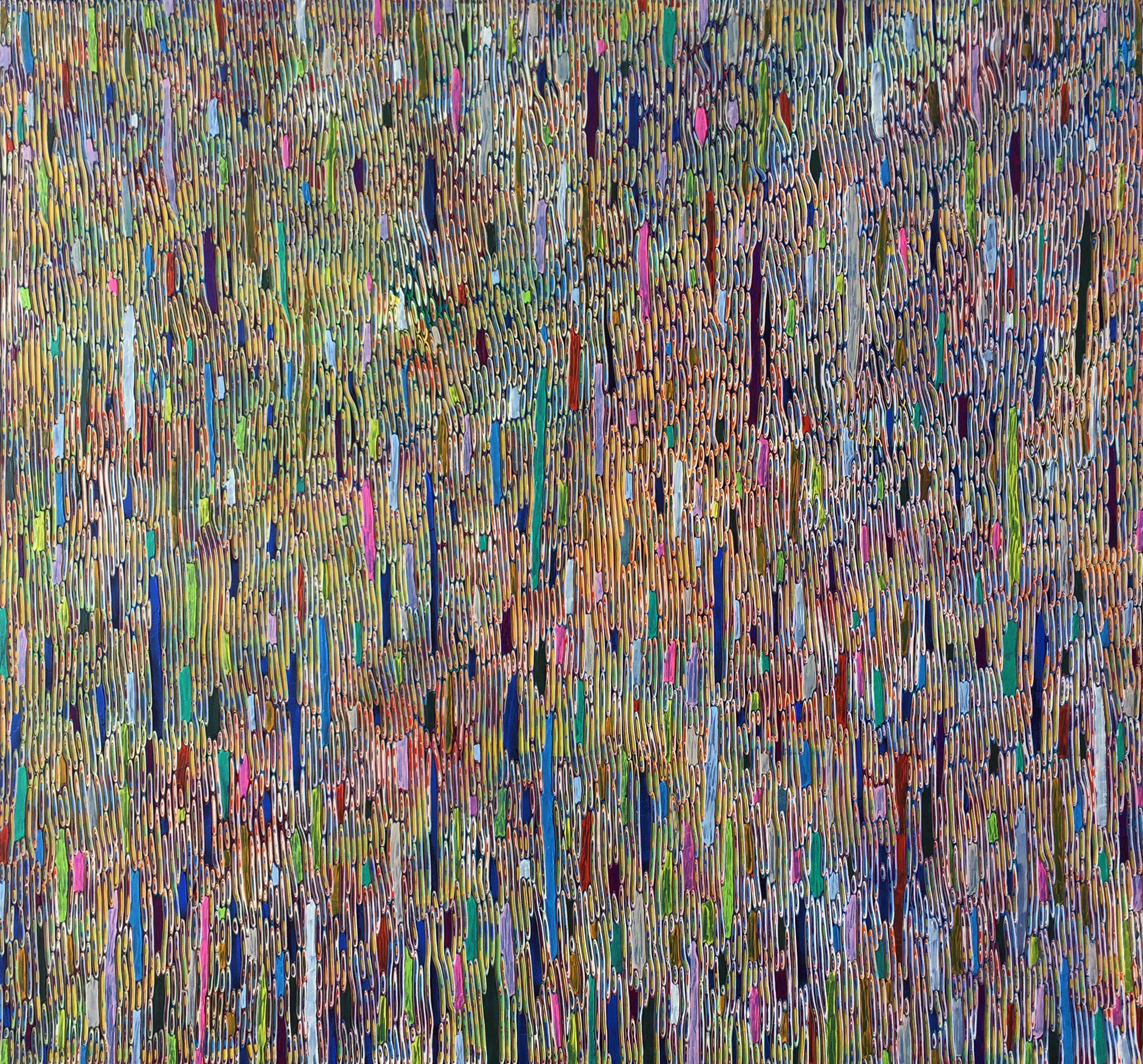 绘画100: 雨   Painting 100: Rain