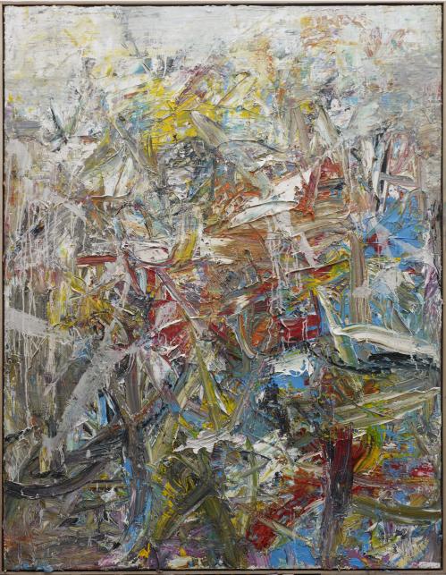 《2014抽象作品w24号》. 尺寸: 200x155cm材料:布上油画