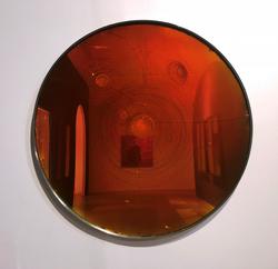 匡峻 裝飾中的修辭-贖罪-11+玻璃,不锈钢+120x120cm+2018