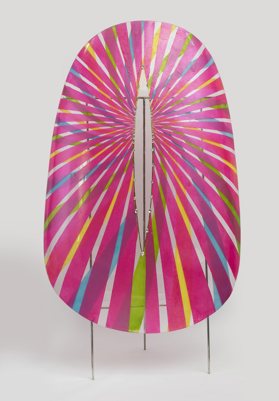 巨甲阵-光芒万丈   综合材料    115×215cm   2016