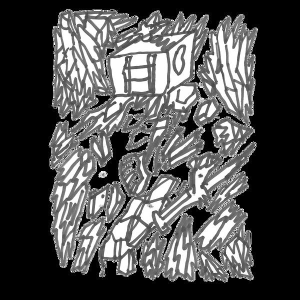 Maken X 8, Marker on paper card, Beijng, 2019