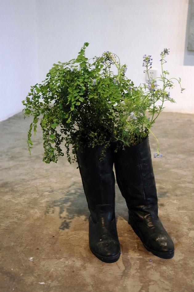 鲜花, 李景湖, 装置, 2005