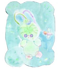 草地上的荷兔猪 The Rabbit Pig on the Grass