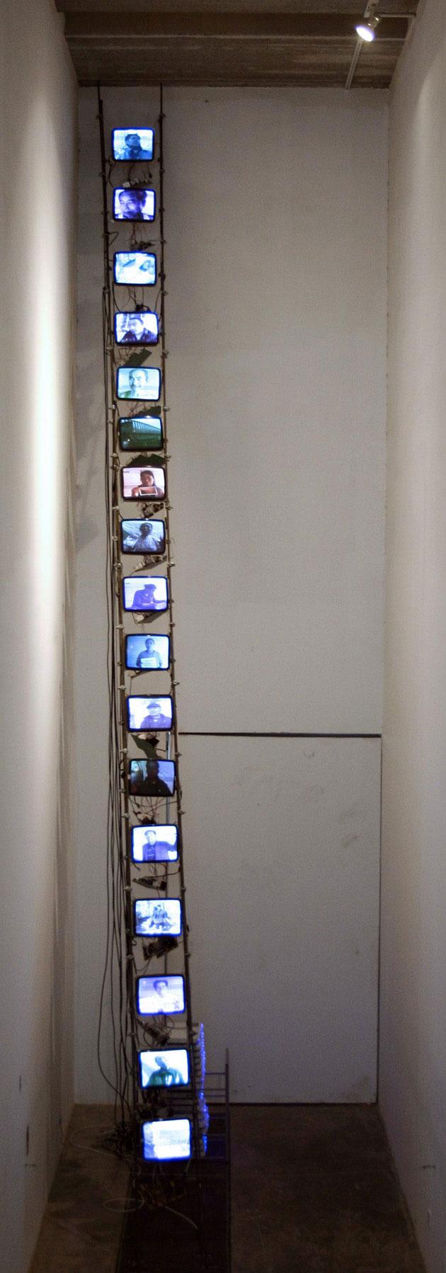 天, 刘卓泉, 录像装置, 2006