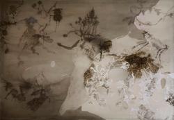 沈瑞筠 《春》墨、蛋彩、绢 120x172cm 2008