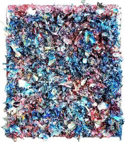 炼丹师木板裱纸..丙烯.服装辅料.媒介剂. 64cmX73cm 2012