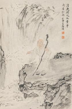 禅林宝相册 纸本水墨 22x34cm 12