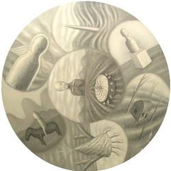 圆11_2010,直径150CM_布面丙烯