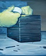 黑盒Black Box 布面油画 75x90cm  2015